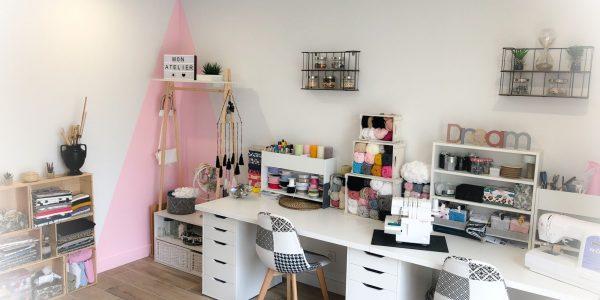 Mon atelier de création des objets décos et accessoires !